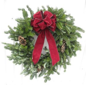 Handmade Wreaths Lundins Tree Farm Directions